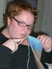 meghan-knitting