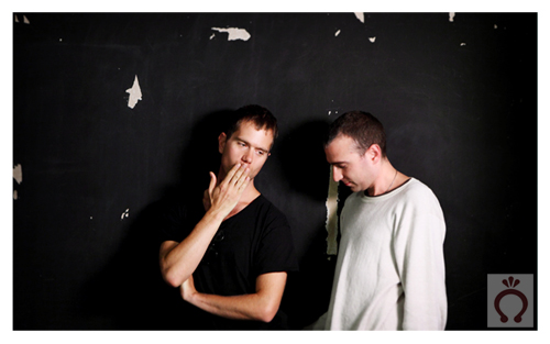 The Presets being their hilarious selves.