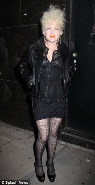 Cyndi Lauper Also Loves Lady GaGa