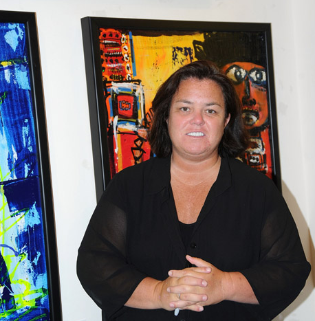 Rosie O'Donnell Likes Arts & Crafts