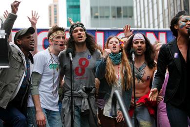 Gavin Creel & The Cast of HAIR Sing