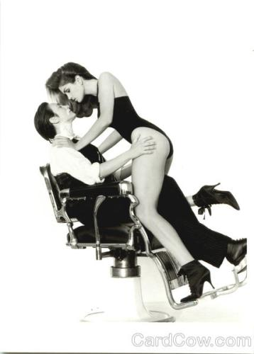 Classic Auto-Straddle: Cindy Crawford & kd Lang