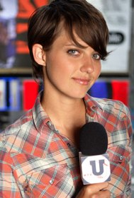 Kim on MTV-U