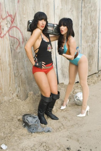 Lady Gaga & Lady Starlight '07: Photo byAngela Wieland