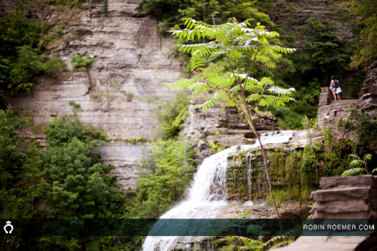 Waterfalls at Tremen State Park in Ithaca
