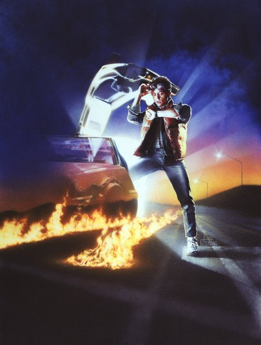 Marty McFly Loves Auto-Straddling Time Travel