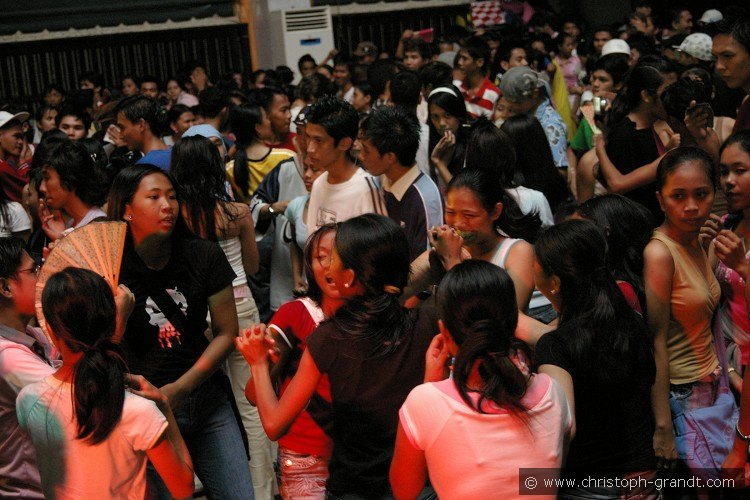 Party at the University of Manila
