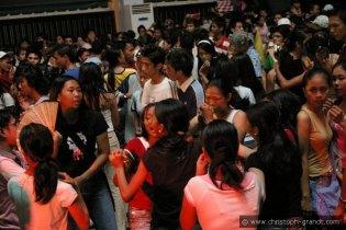 Party at the University of Manila