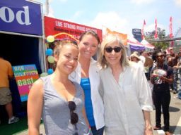 Nicole Pacent, SheWired's Shannon Connolly & Susan Miler at Pride L.A.
