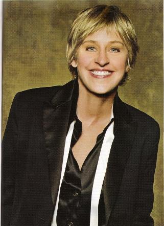 Ellen Degeneres Advocate mag