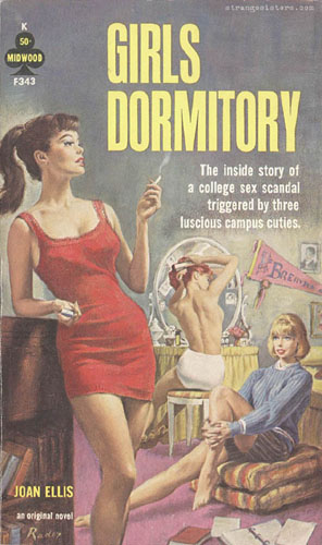 Girls Dormitory Lesbian Pulp Fiction Lit