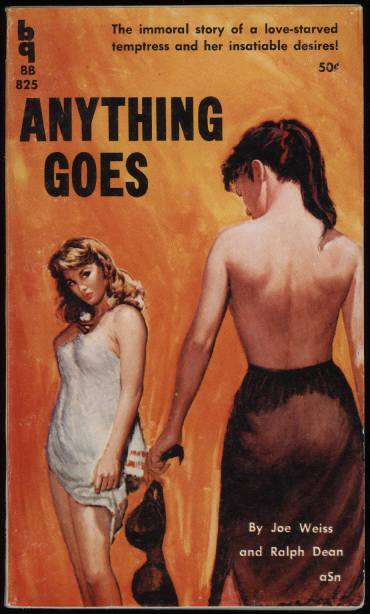 Anything Goes Lesbian Pulp Fiction Lit