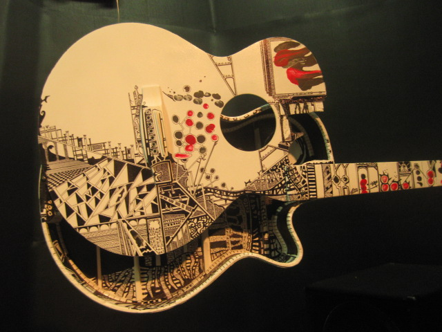 artsy guitar by kaki king