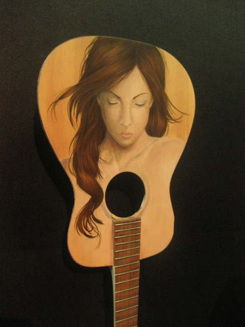 beautiful girl on guitar by kaki king
