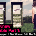 """When I Knew I Was Gay"" #1: What Would Happen If One Woman Told The Truth About Her Life"