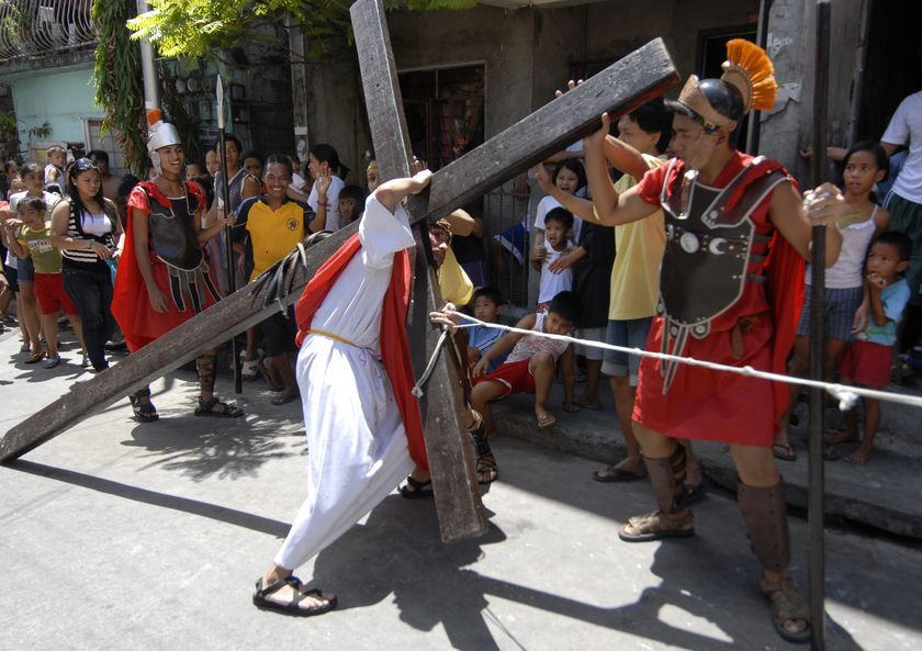 Good Friday in The Philippines