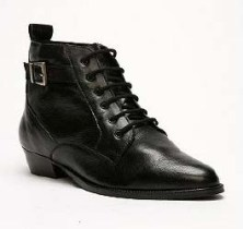 Deena and Ozzy lace-up bootie