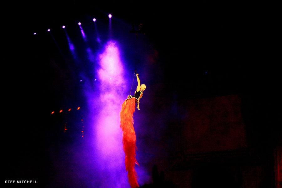Stef Mitchell Pink Concert
