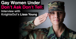 """Don't Ask Don't Tell"" Discharge Lissa Young: The Autostraddle Interview"