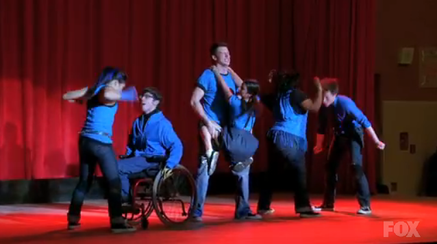 Glee Push It Dance