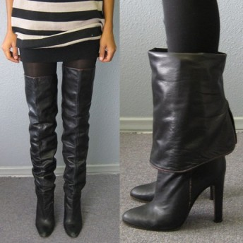 thigh high boots from etsy