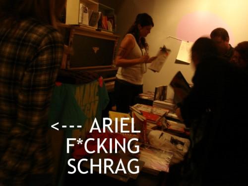 Ariel Schrag Sister Spit Phoenix