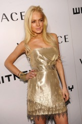 Lindsay at the Whitney Gala October 19