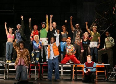 Rent Broadway Cast