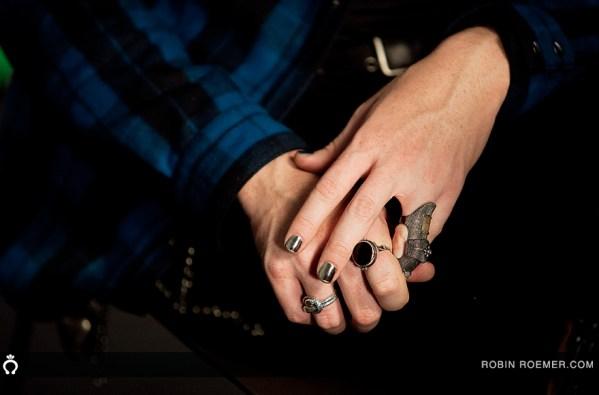 Adam Lambert fingernails