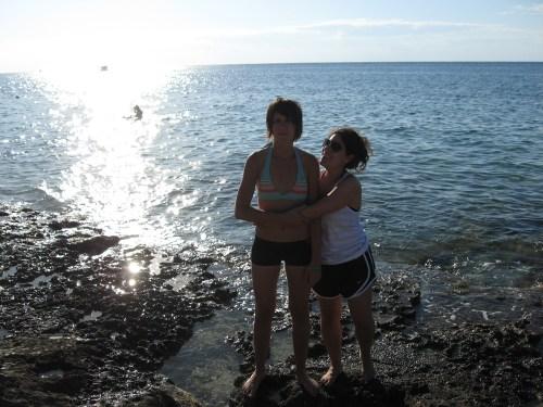 Alex & Jess in Cozumel