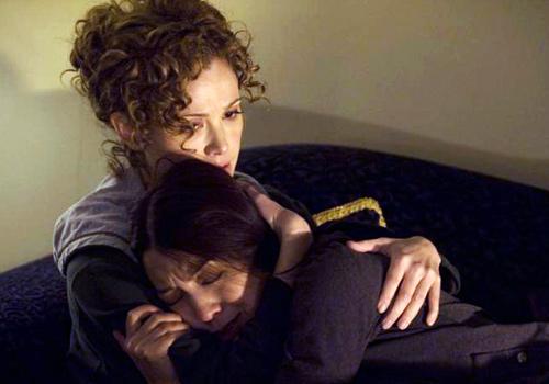 Camile & GF cuddling
