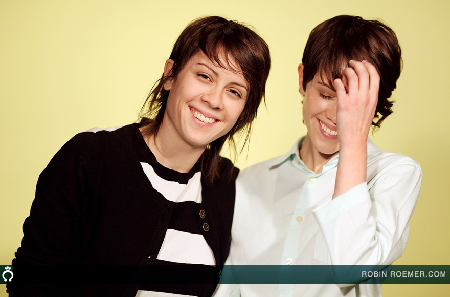 tegan and sara nyc portrait