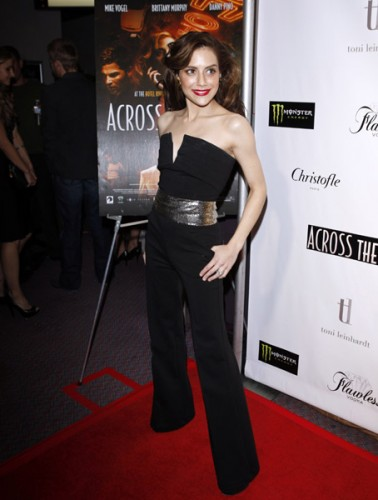 Brittany Murphy at the Across the Hall Premiere December 3rd