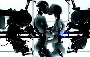 Lesbian-Robots-flower-cross-love-human-and-robot