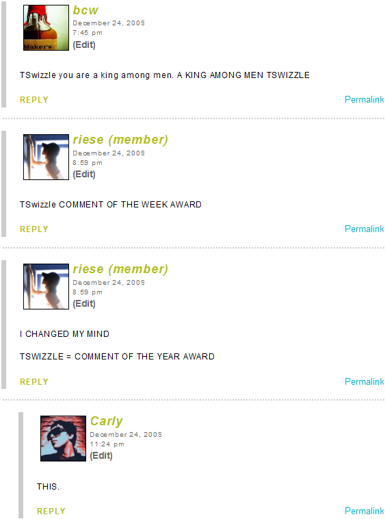 TSwizzle Award