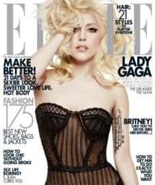 Lady Gaga on Elle Magazine