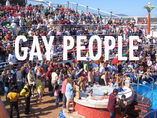 rosie gay family cruise
