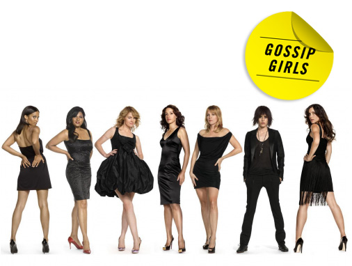 The cast of The L Word - Gossip Girls