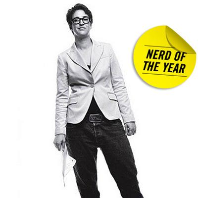 Rachel Maddow - Nerd of the Year