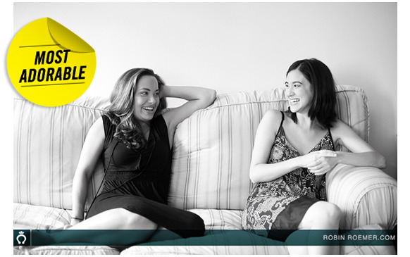 Anyone But Me actresses - Nicole Pacent and Rachael Hip-Flores