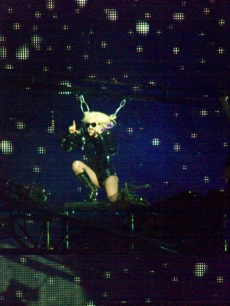 Monster Ball Gaga Performing Paparazzi
