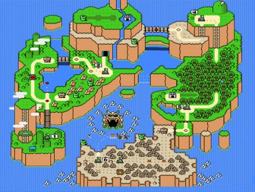 Video Game Maps: An Ode to Overworld Cartography | Autostraddle
