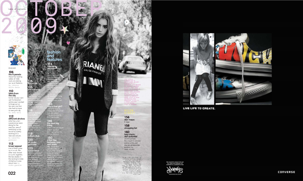 Nylon interior spread