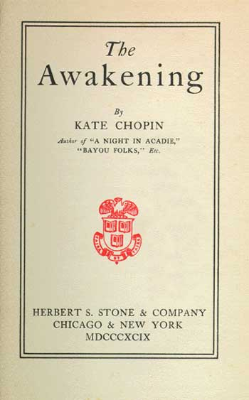 the oppression of women and the womens movement in the novel the awakening by kate chopin Kate chopin and the women's movement kate chopin was born on february 8th, 1850 in st louis missouri her father, thomas o' flaherty imigrated from ireland her mother was a member of the.