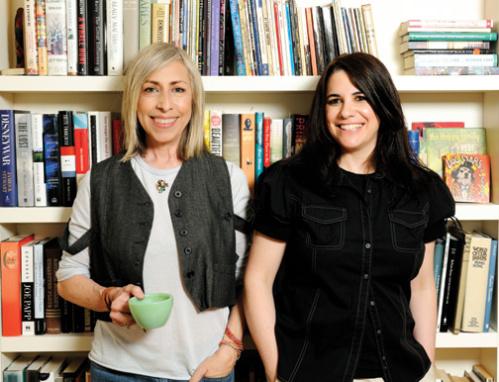 Susan Miller with Tina Ward