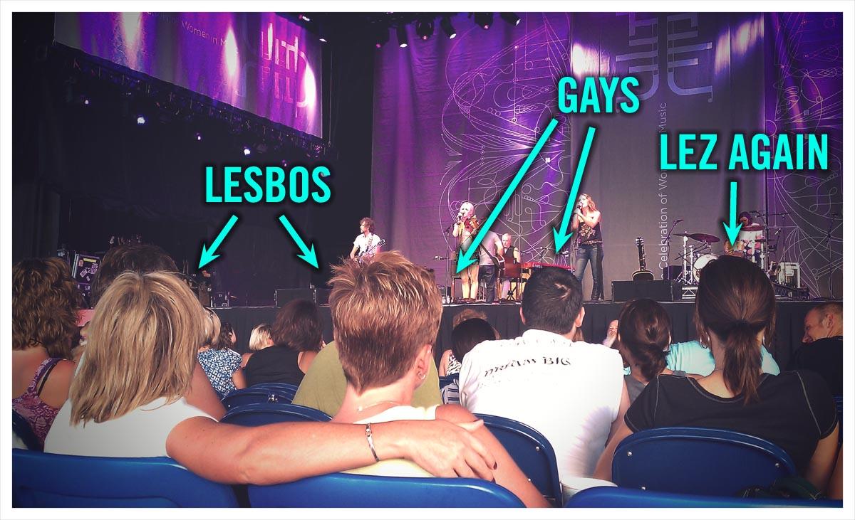 lilith fair lesbians