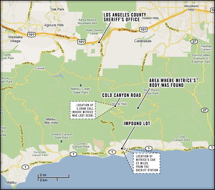 Mitrice Missing map