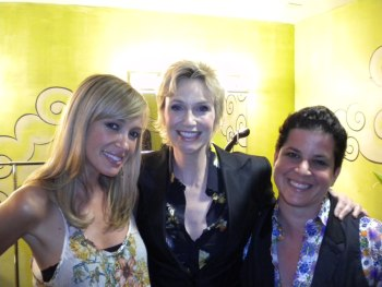 Jane Lynch with Brandy Howard and Julie Goldman Autostraddle