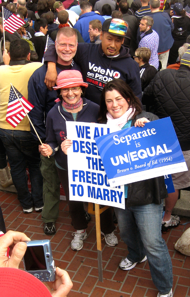 an argument in favor of giving homosexuals the same rights as straight people Two supreme court decisions involving gay rights, one decade apart, have left a  lot  a challenge to a georgia law authorizing criminal penalties for persons  found guilty of sodomy although the georgia law applied both to heterosexual  and homosexual  as of 2013, twelve states recognize same sex marriage (see  map.