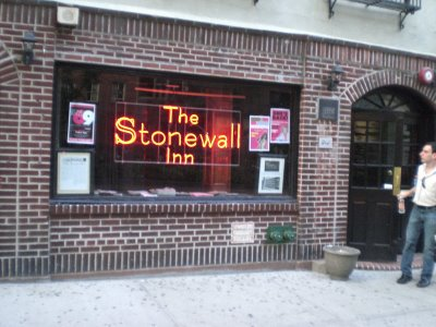 The Stonewall Inn.